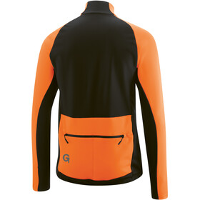 Gonso Diorit Chaqueta Softshell Hombre, red orange/black